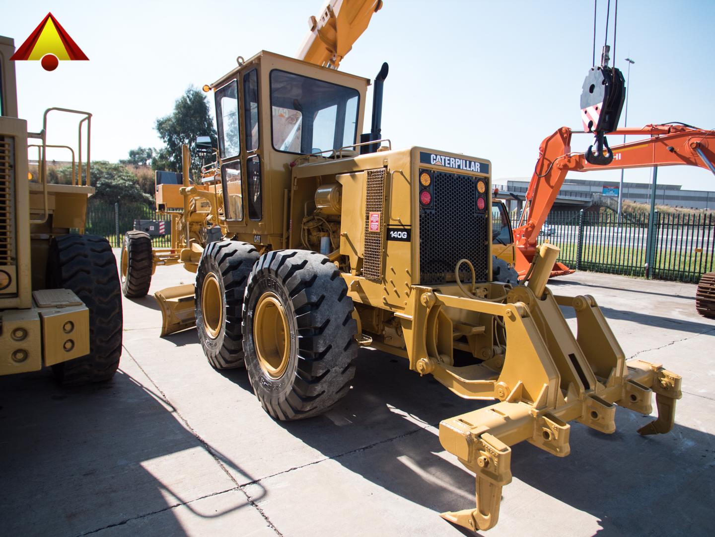 Caterpillar 140G (Serial: 50H01767) – STF Equipment